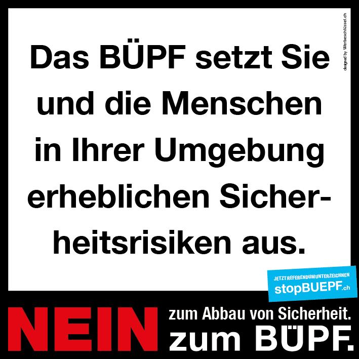 BÜPF Sicherheitsrisiko
